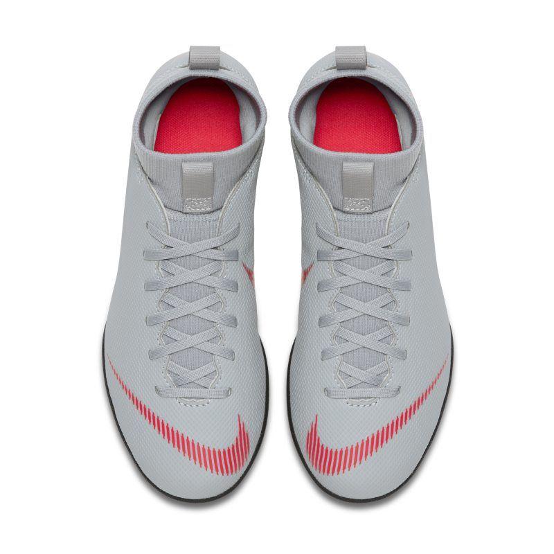 426b79f2278a4 Nike Jr. Mercurial Superfly VI Club TF Younger Older Kids Turf Football Shoe  - Grey
