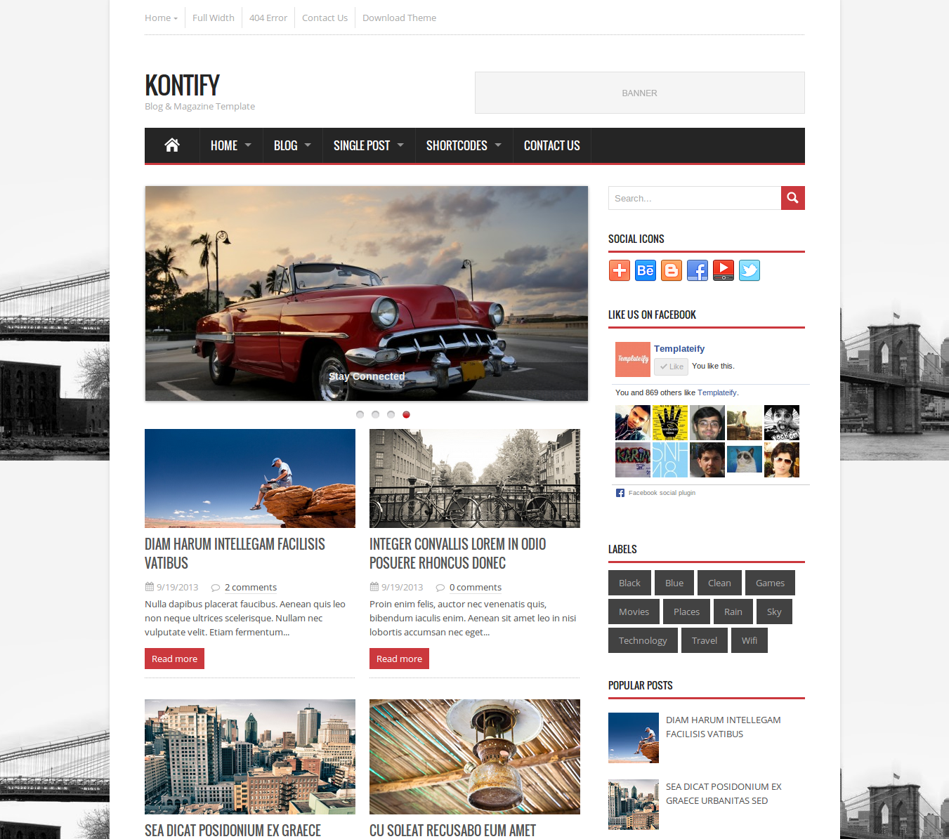 Template: Kontify Author: Templateify Style: Magazine Release Date ...