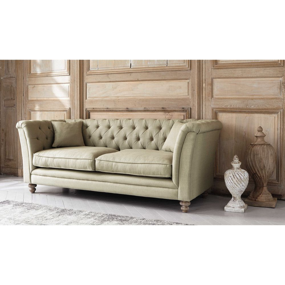 Fixed Sofas Sofa Linen Sofa Chesterfield Sofa