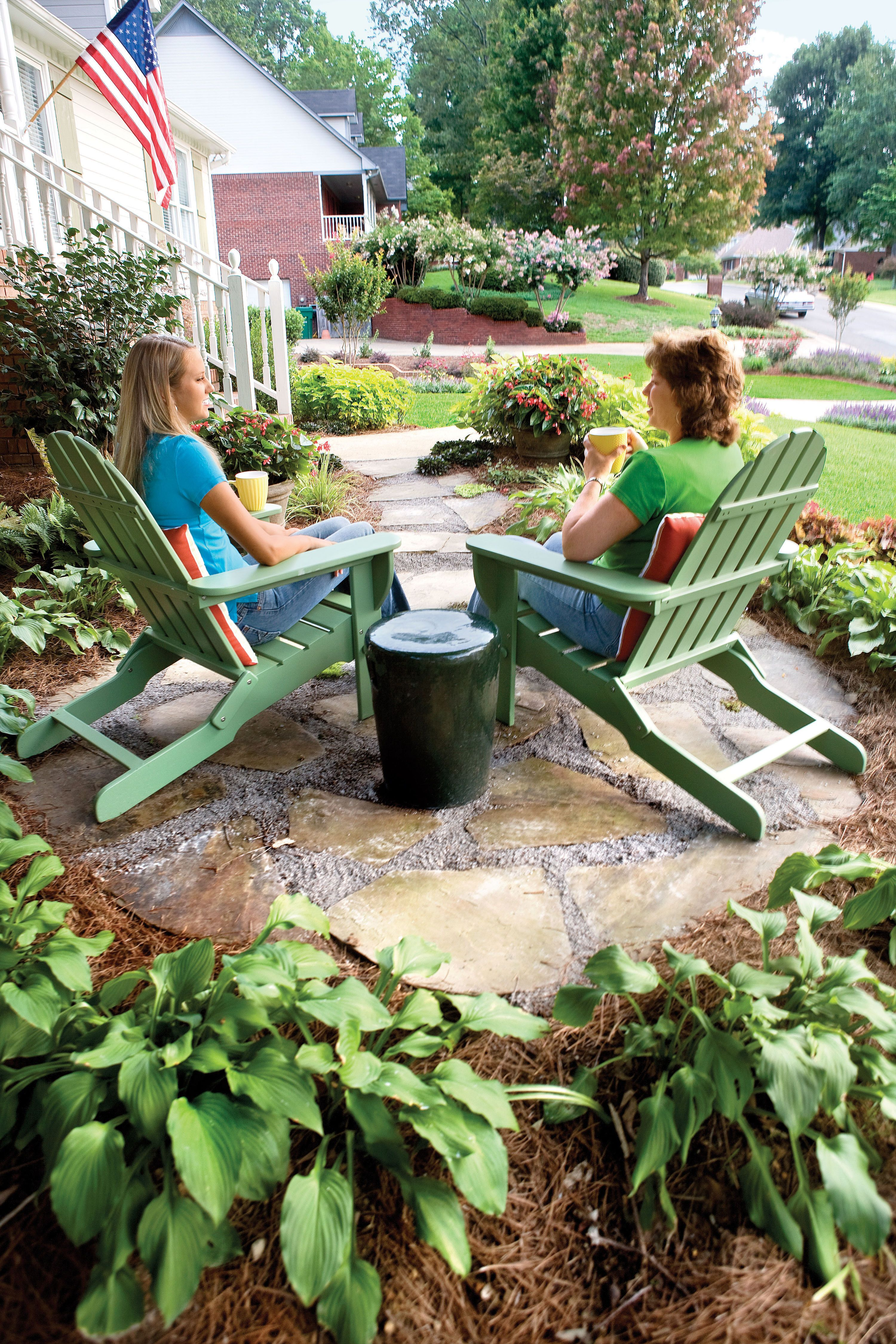 Your Yard Calendar Front Landscaping Garden Sitting Areas