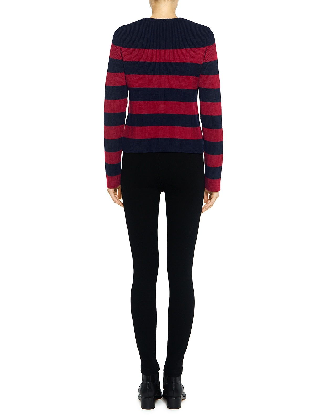 Red Valentino Striped Sailor Sweater
