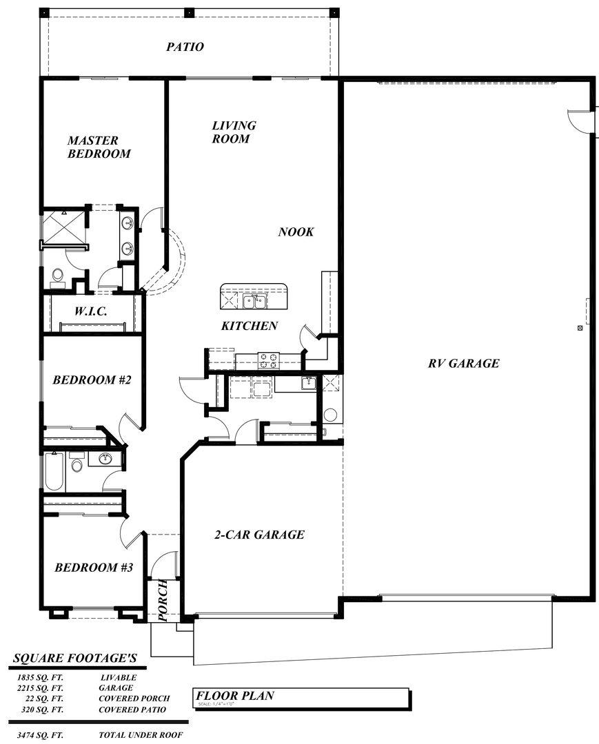 Mesquite Double Rv Garage Model Garage Floor Plans Garage House Plans Barndominium Floor Plans
