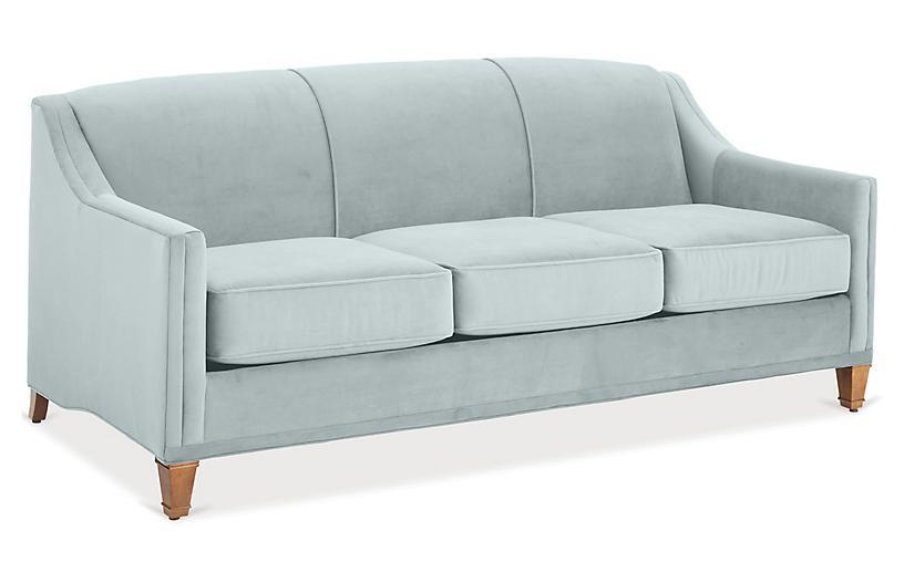 Sensational One Kings Lane Erin Sleeper Sofa Seafoam Crypton Cjindustries Chair Design For Home Cjindustriesco