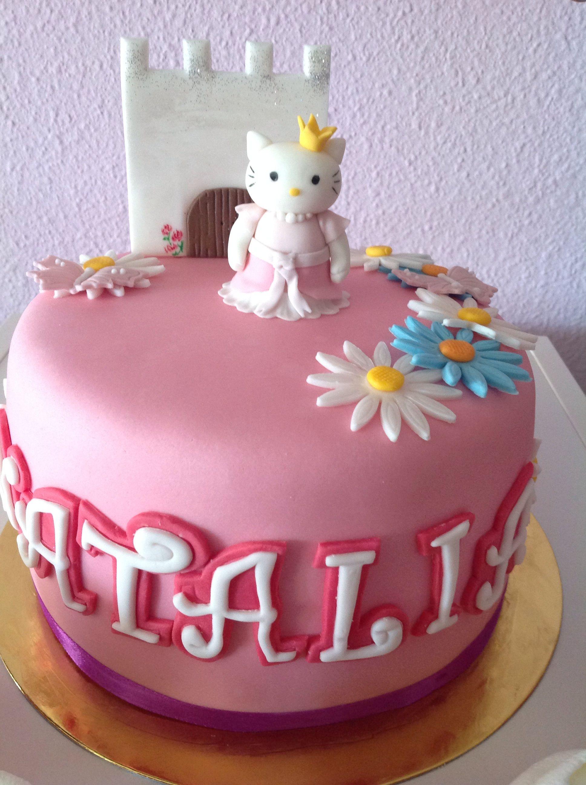 Hello Kitty Princess birthday cake | Cake, Princess ...