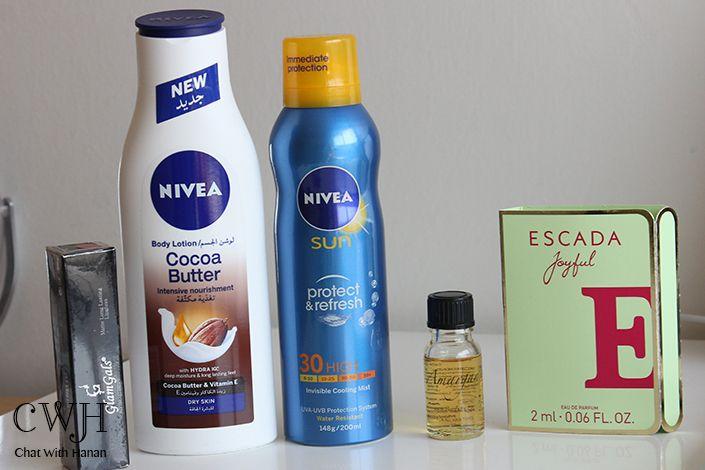 Chat With Hanan Body Lotion Nivea Shampoo Bottle