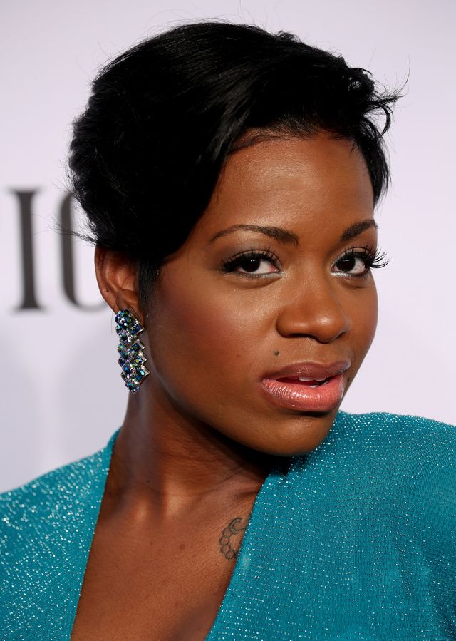 Fantasia Hairstyles Entrancing The Best Bling From The 2014 Tony Awards Fantasia Barrino At The