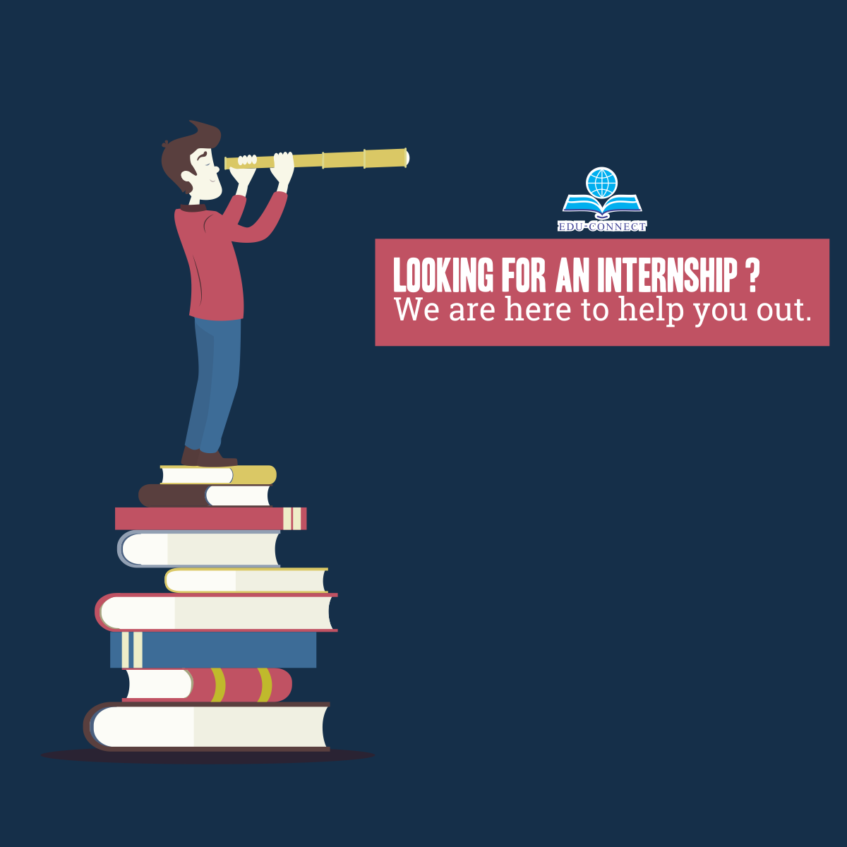 Students who wish to get meaningful Internship are