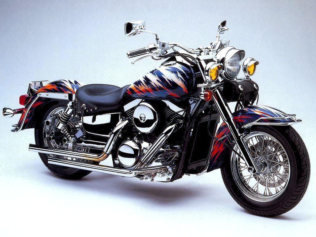 Tiger Shape Kawasaki Vulcan Body Photo, http://wallpapers.ae/tiger-shape-kawasaki-vulcan-body-photo.html