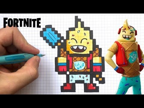 Chadessin Pixel Art Fortnite Youtube Pixel Art Comment