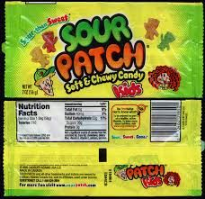 Sour Candy Wrappers Google Search Sour Patch Kids Sour Candy Candy Wrappers