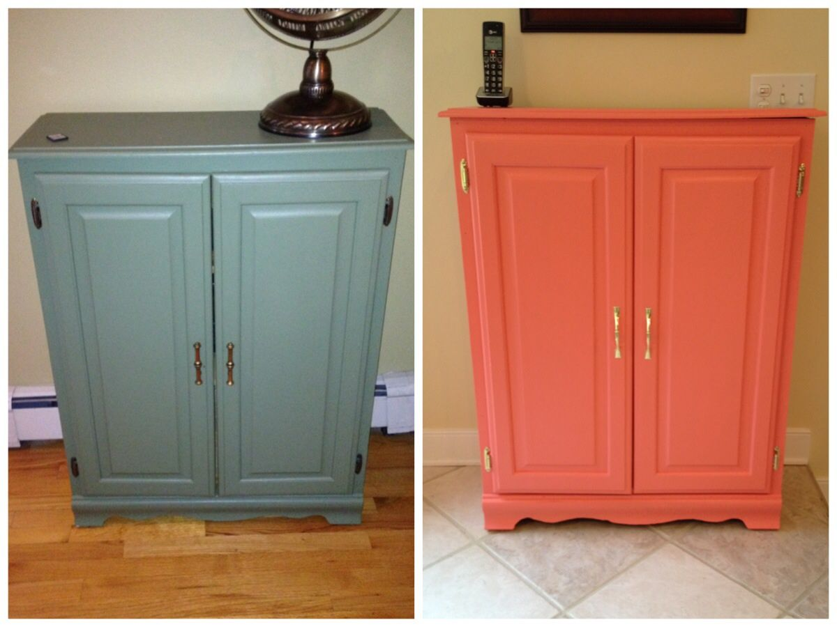 An Old Cabinet Gets A New Makeover