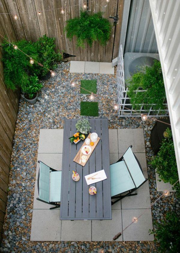 Gartenideen, die den Außenbereich frischer erscheinen lassen - gartenideen