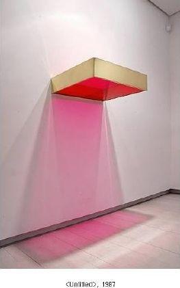 Donald Judd #lightartinstallation Donald Judd #lightartinstallation
