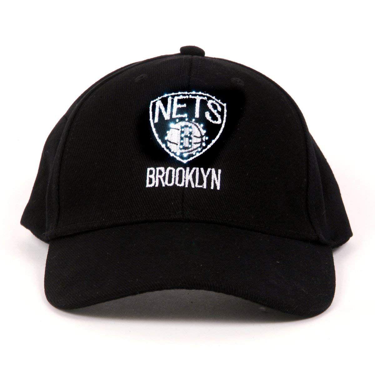NBA Brooklyn Nets LED Light-Up Logo Adjustable Hat, $11.99 ...