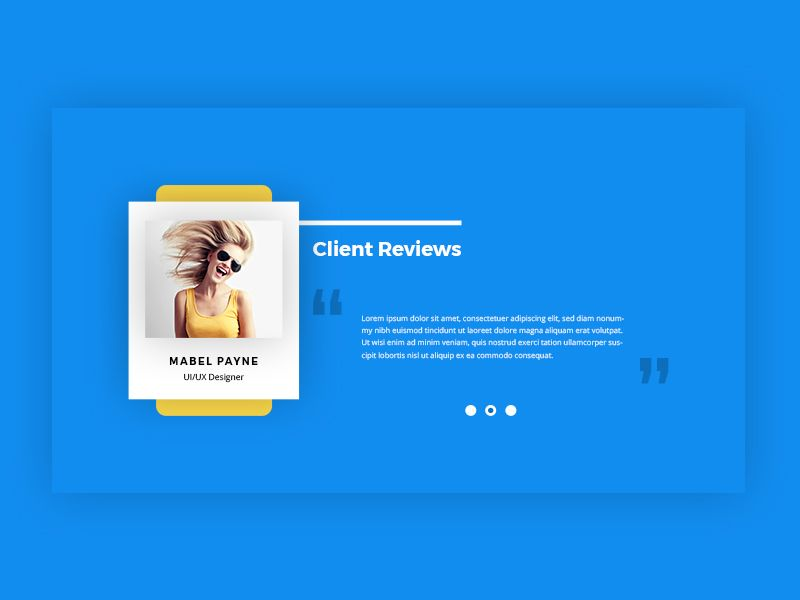 Client Review Section Keynote Design Testimonials Web Design Testimonials Design