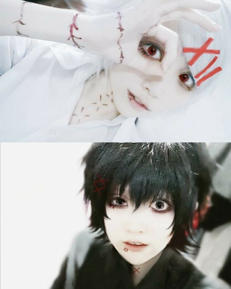 Tokyo Ghoul Cosplay en 2020   Cosplay genial, Maquillaje ...