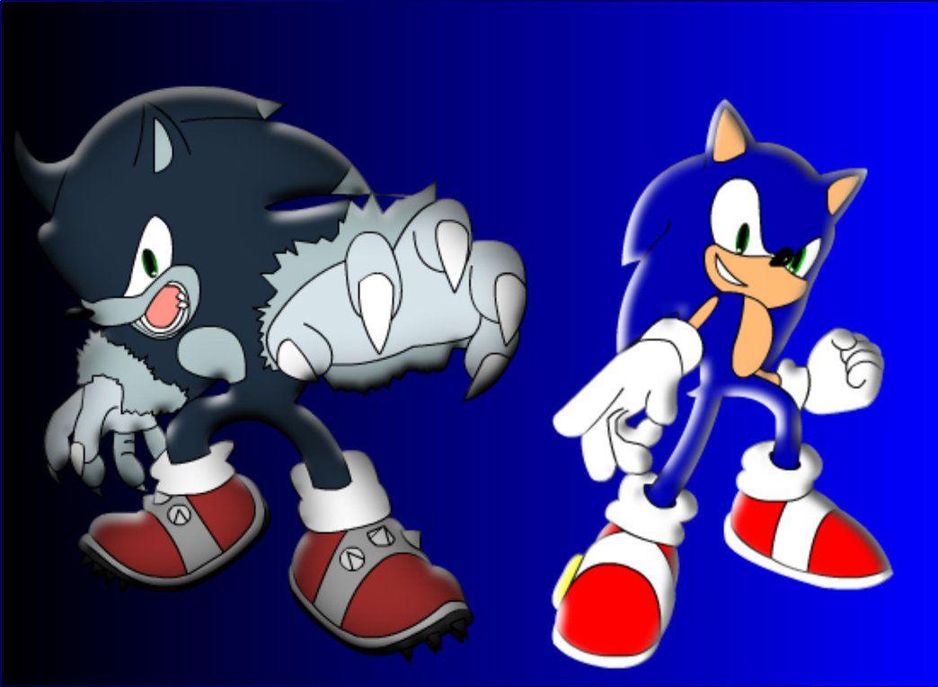 darkspine Sonic the Werehog | Sonic and Werehog by ShadicX on deviantART