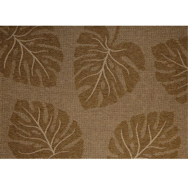 Treasure Garden Maui Outdoor Rug Large Scale Tropical Leaves Add An Exotic Feel To The Use This Weather Resistant