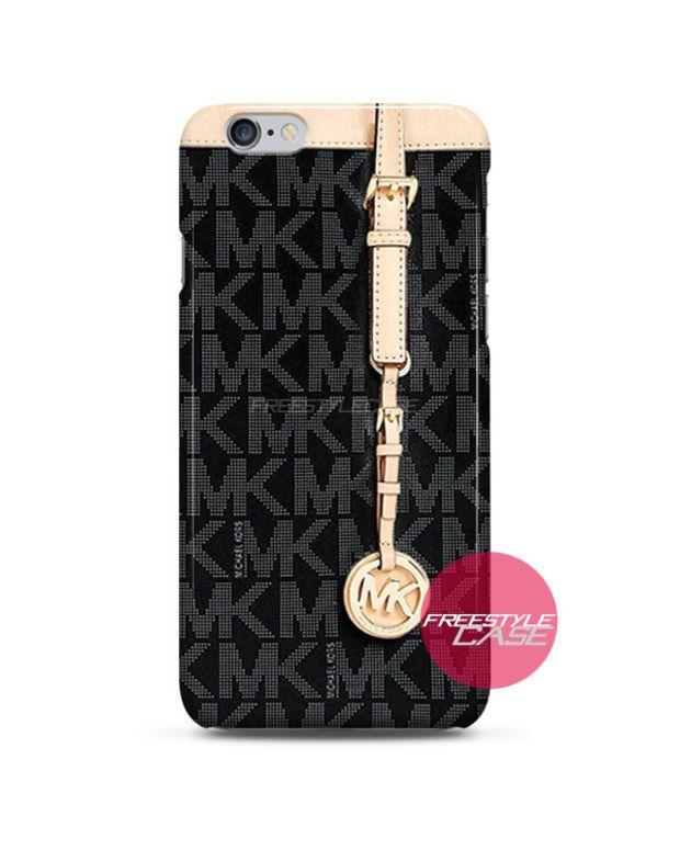 Michael Kors MK Bag Black Gold iPhone Case 3, 4, 5, 6 Cover