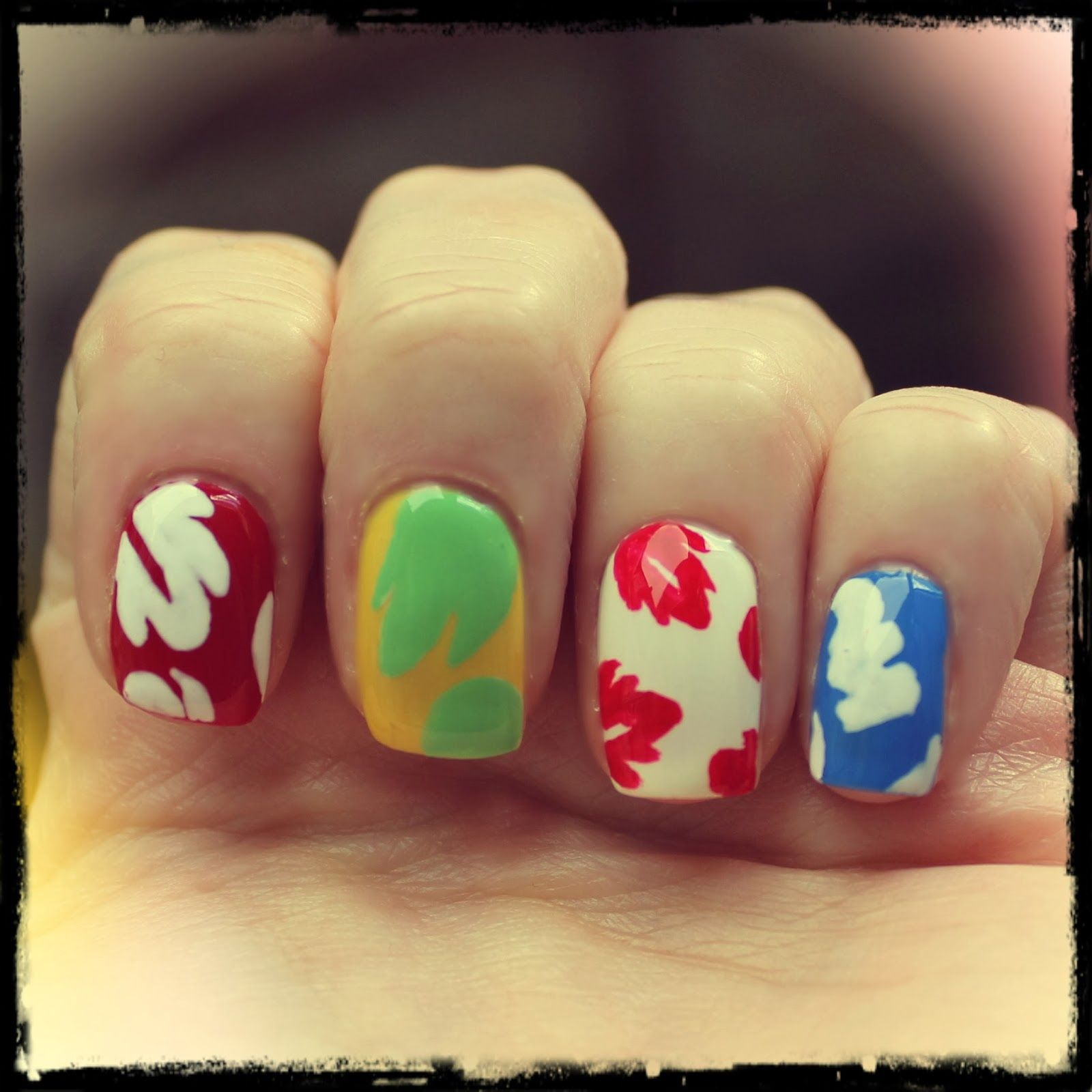 Lilo & Stitch inspired nails! | Nails, Disney nails, Cool ...