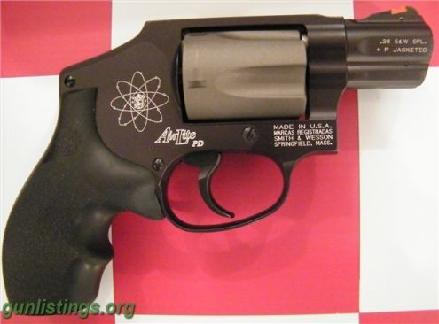 Pistols Smith & Wesson 342PD 38spl +P SPECIFICATIONS: Category