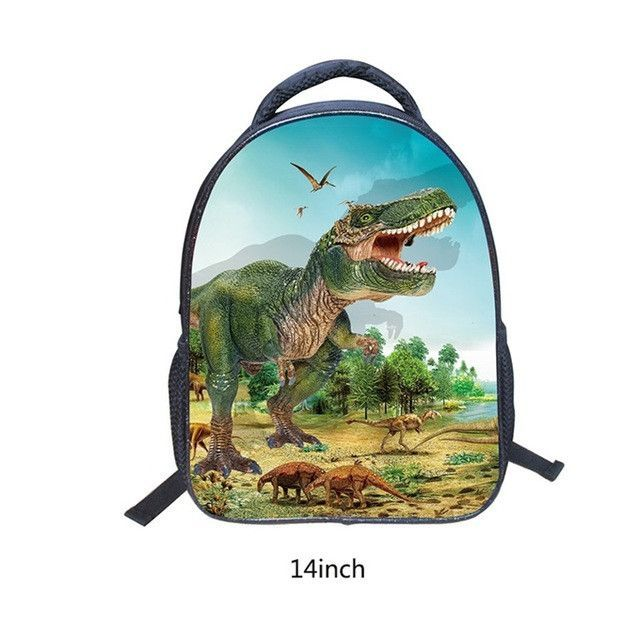14 16 Inches Animals Dinosaur Backpacks 3d School Bags Baby Backpack For Children Kids Magic Dragon Kindergarten