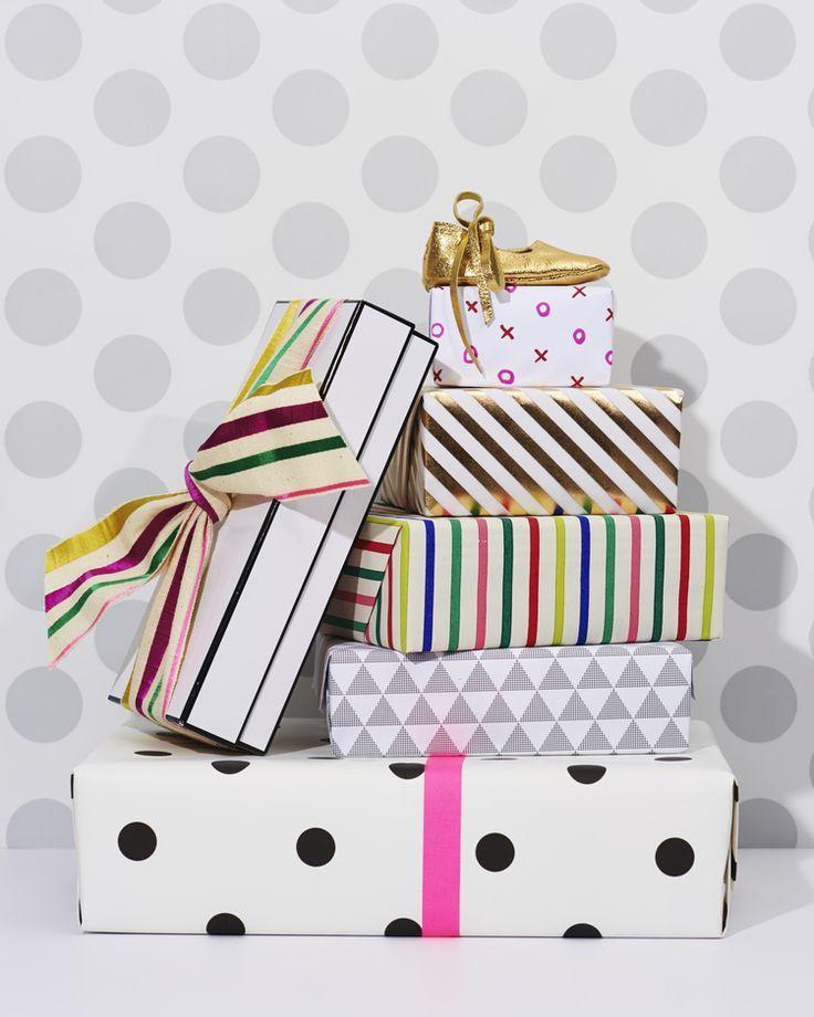 Pretty gift wrap!