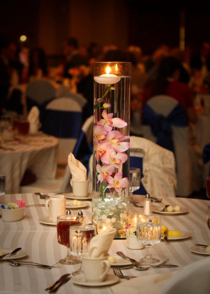My Wedding Centerpieces Stones From The Dollar Store Vases
