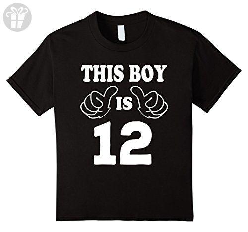 Kids 12 Year Old Shirt For Boy Kid 12nd Birthday Gift Idea 2005 12 Black Birthday Shirts Amazon Partner Link Old Shirts Birthday Shirts Navy Birthday
