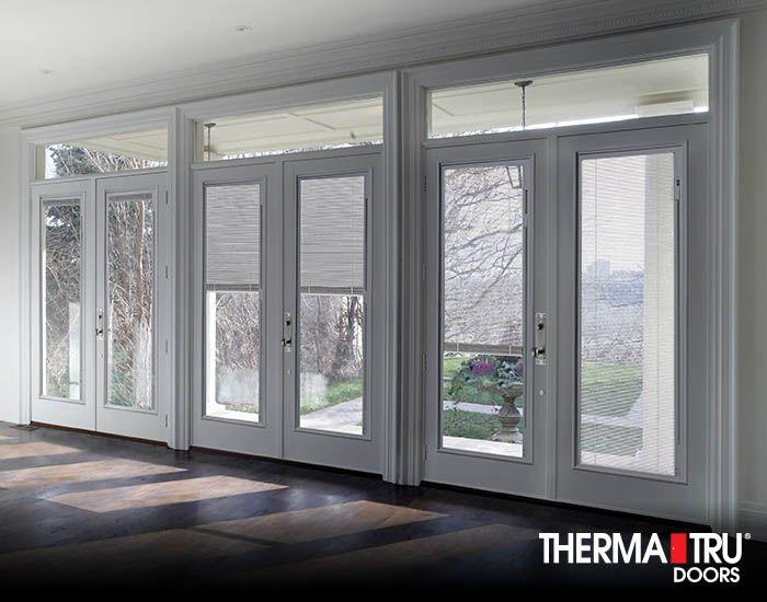 Therma tru 80 smooth star fiberglass doors with internal blinds therma tru 80 smooth star fiberglass doors with internal blinds planetlyrics Gallery