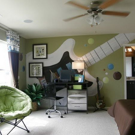 Teenage Boysu0027 Bedroom Design Ideas