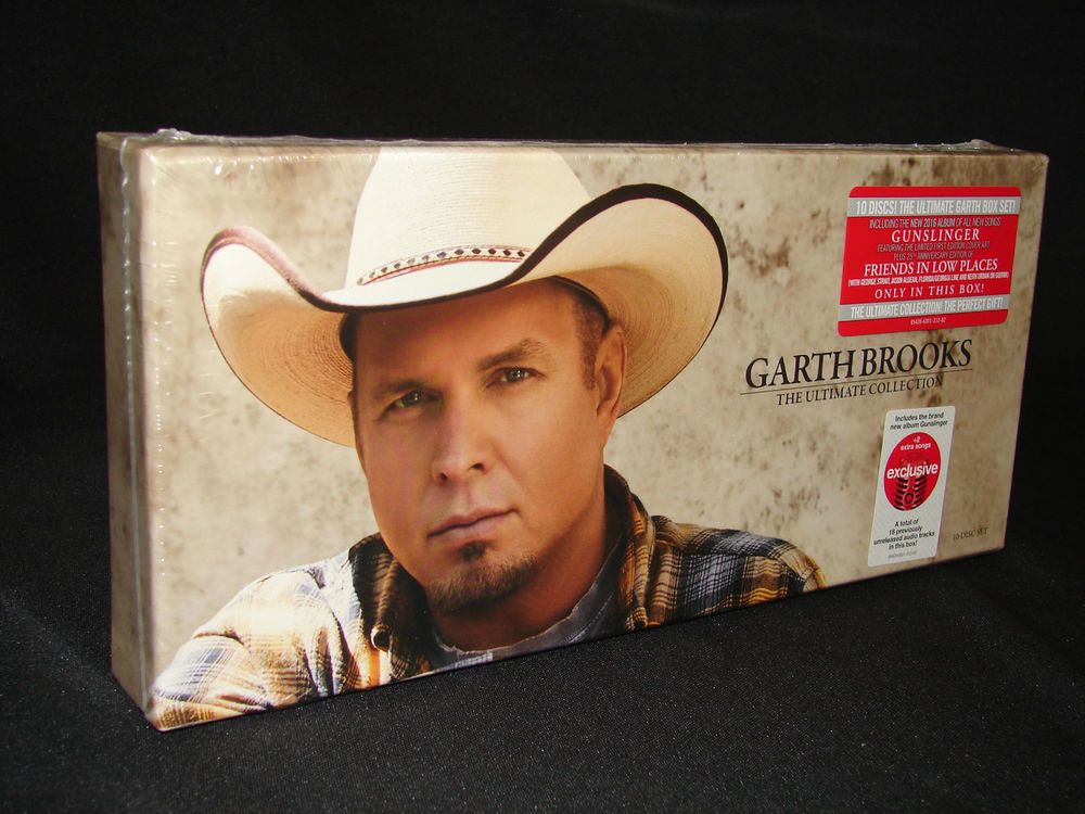 Garth Brooks The Ultimate Collection 10 Disc Set Cds Music Sealed