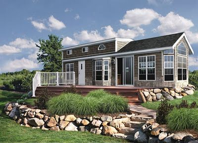 A Look At Park Model Mobile Homes | Wood colors, Park and Remodeling