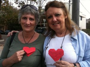 TEHP Participants- an artistic work supporting marriage equality.