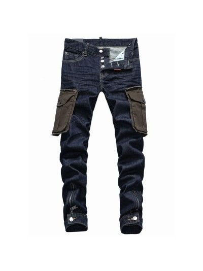 Dsquared2 Pocket Cargo Denim Pants is available in Dsquared Sale and  Dsquared Outlet online store including dsquared2 sale 0774457fb21