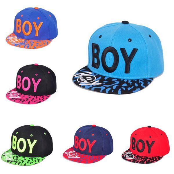 f3a98bd9aae Unisex BOY Letter Embroidery Baseball Cap Leopard Brim Snapback Adjustable  Hat