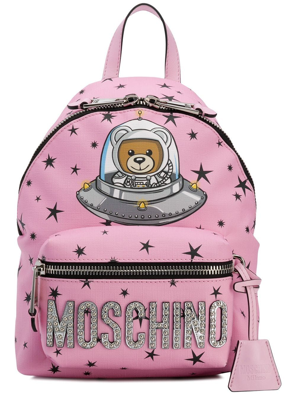 ad35f71af11 Moschino space teddy bear backpack - Pink Italy Fashion, Fall 2018, Runway  Models,