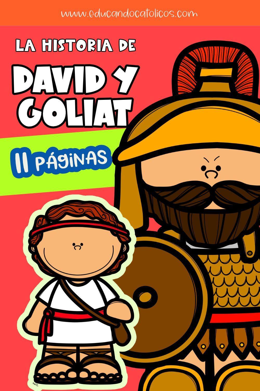 Lección Bíblica David Y Goliat Material Didáctico Católico Lecciones Bíblicas Para Niños Goliat Catequista