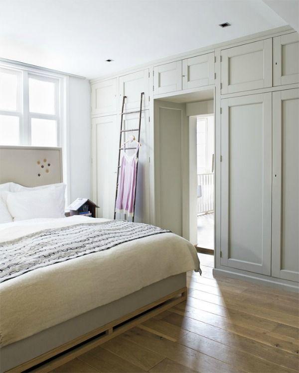 slaapkamer kast om bed heen klein behuisd 10 kastenwanden