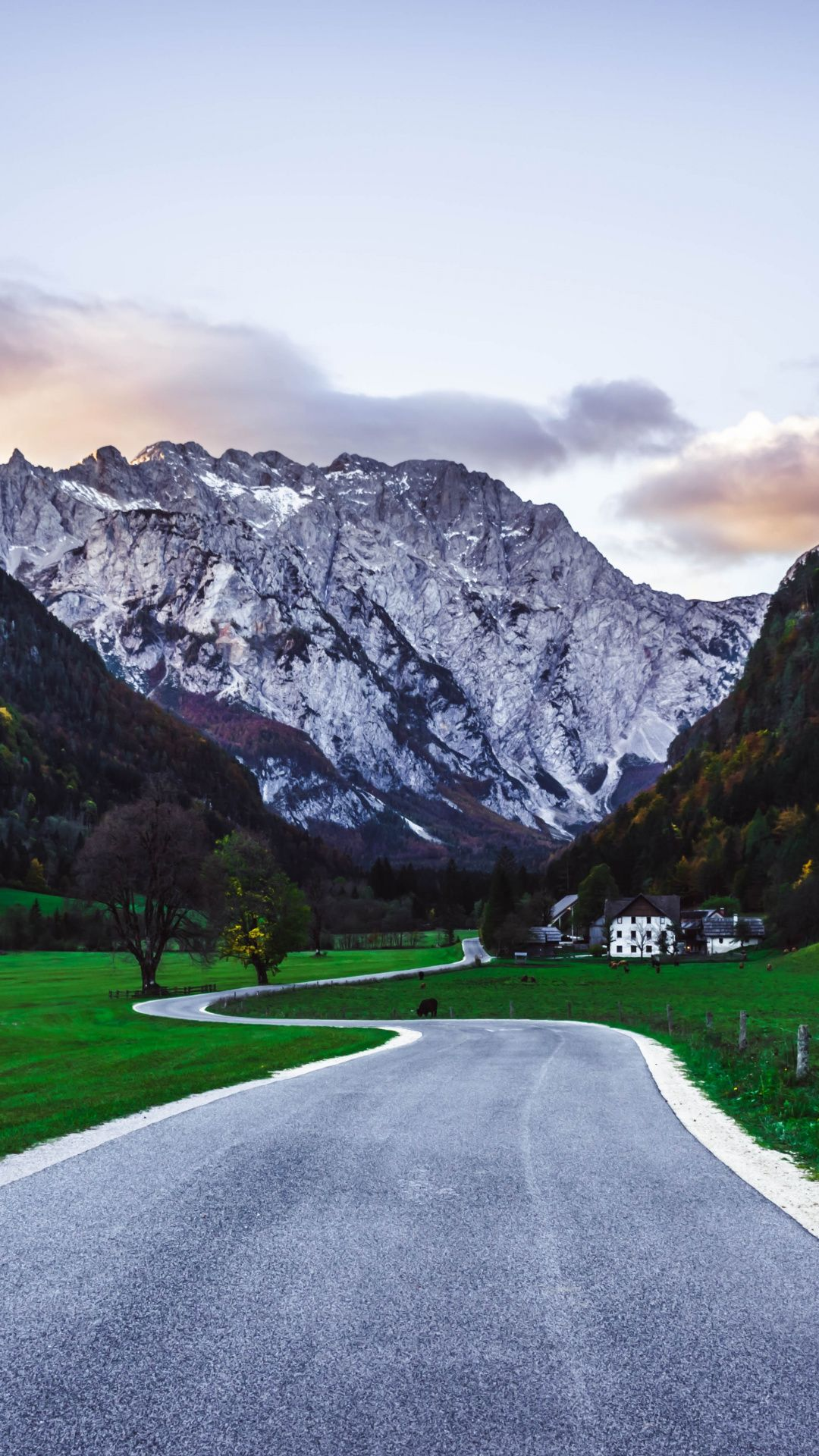 Road Mountains Landscape Nature 1080x1920 Wallpaper Nature Scenery Paradise Places