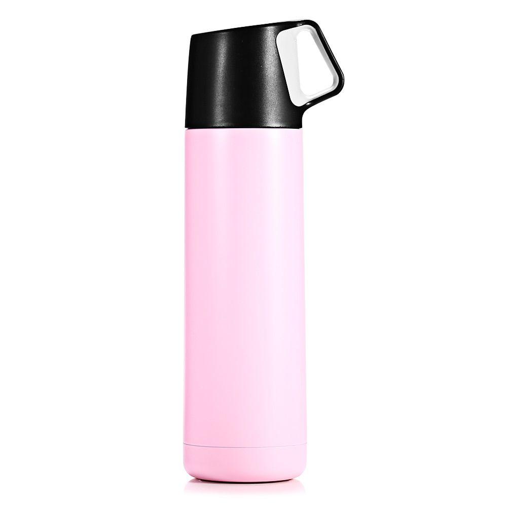 500ml Portable Vacuum Flask With Handle Unbreakable