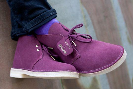 Clarks Original Desert Boots: Lilac
