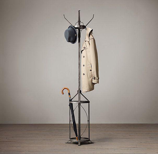 Vintage Factory Coat Stand Vintage Coat Rack Coat Stands Coat Hanger