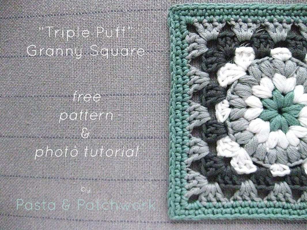 Triple puff granny square free pattern tutorial love the triple puff granny square free pattern tutorial love the color combo bankloansurffo Choice Image