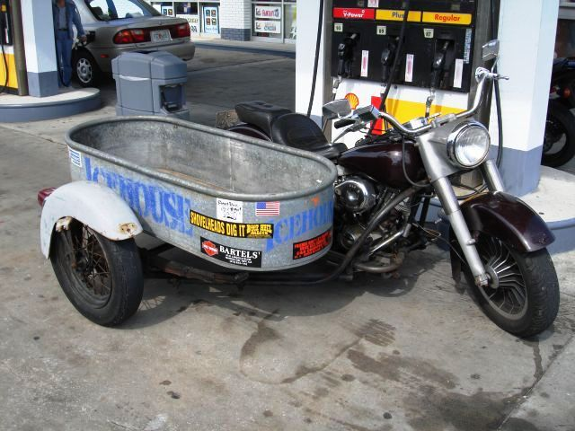 A Water Tub Sidecar With Images Sidecar Trike Motorcycle