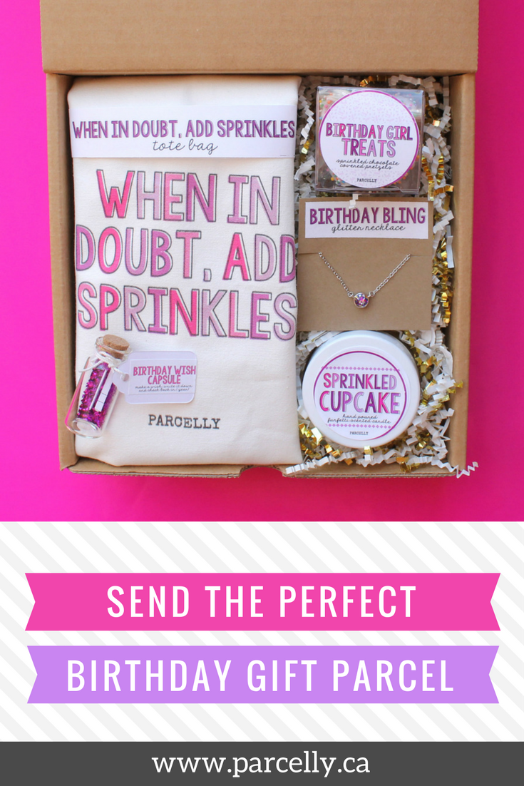 Birthday Gift Ideas Care Package Box DIY