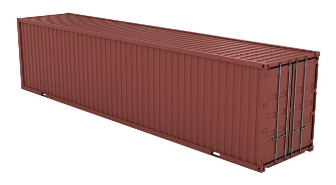 40 Ft Hc Container New Shipping Containers For Sale Containers For Sale Container House