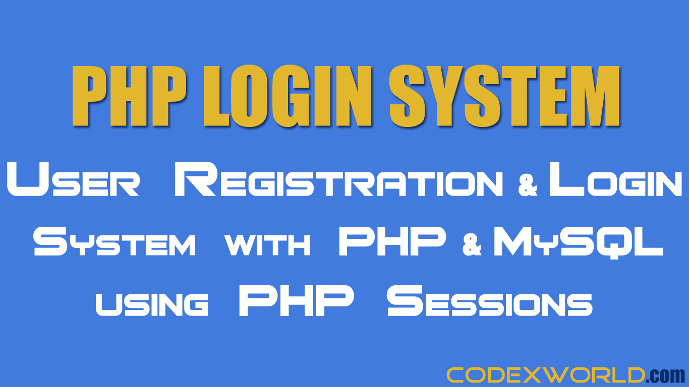 Php login system tutorial learn how to build login and php login system tutorial learn how to build login and registration system with php and baditri Gallery