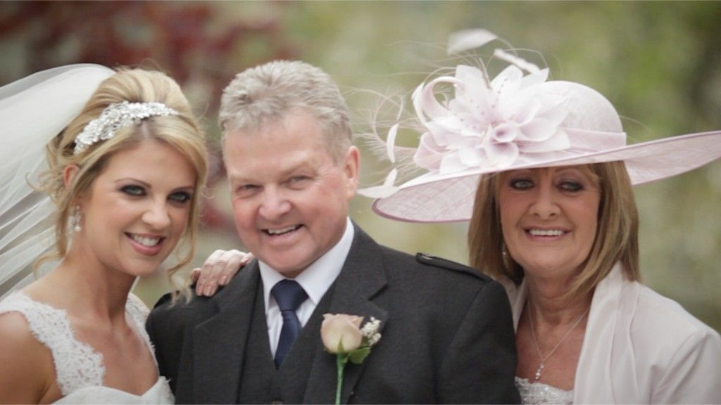 White Balloon Films / Luss Church Wedding / Cameron House Wedding / Wedding Videographer Scotland / Bride & Parents