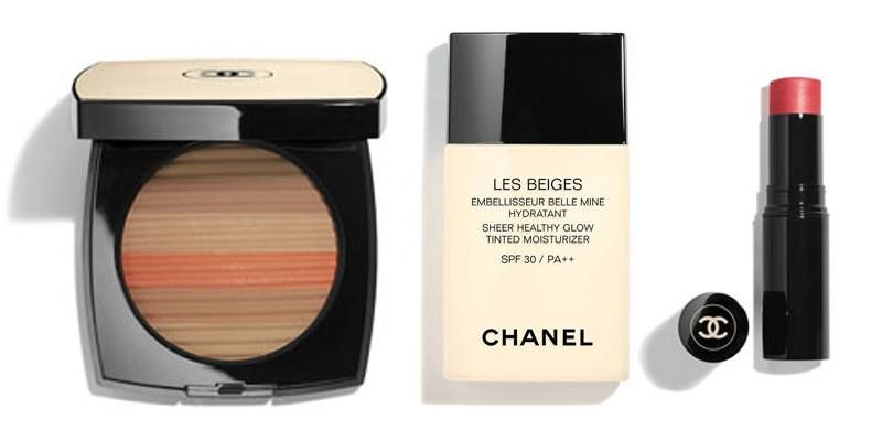 Image result for chanel les beige 2018 + sheer healthy glow
